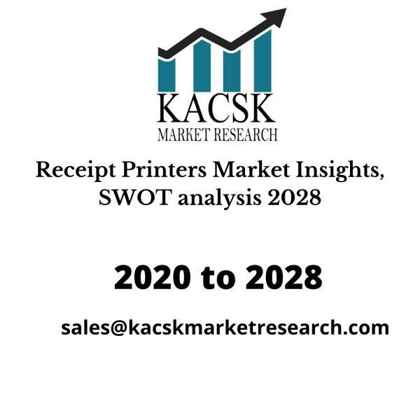 Receipt Printers Market Insights, SWOT analysis 2028