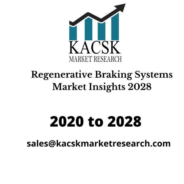Regenerative Braking Systems Market Insights 2028