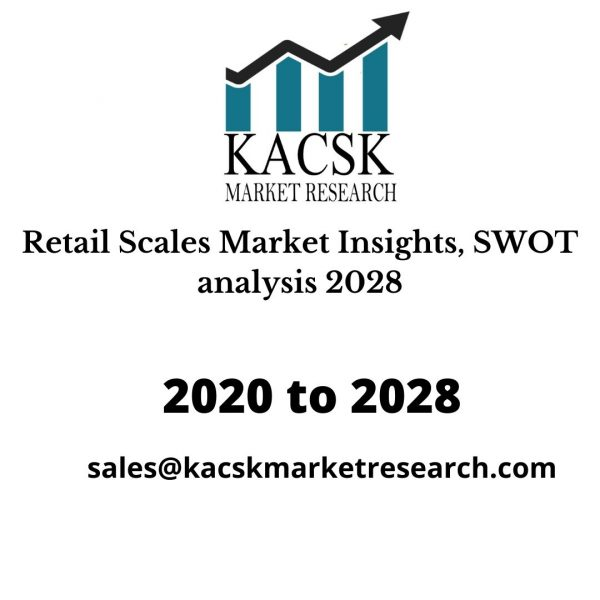 Retail Scales Market Insights, SWOT analysis 2028