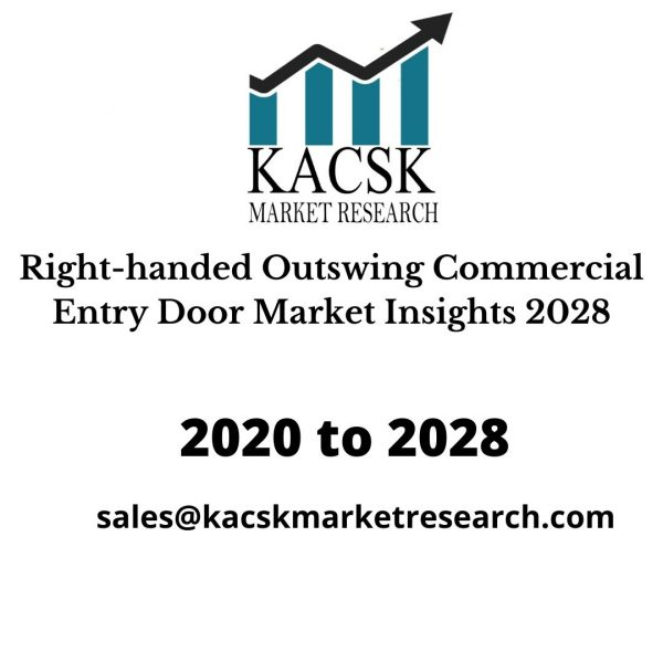 Right-handed Outswing Commercial Entry Door Market Insights 2028