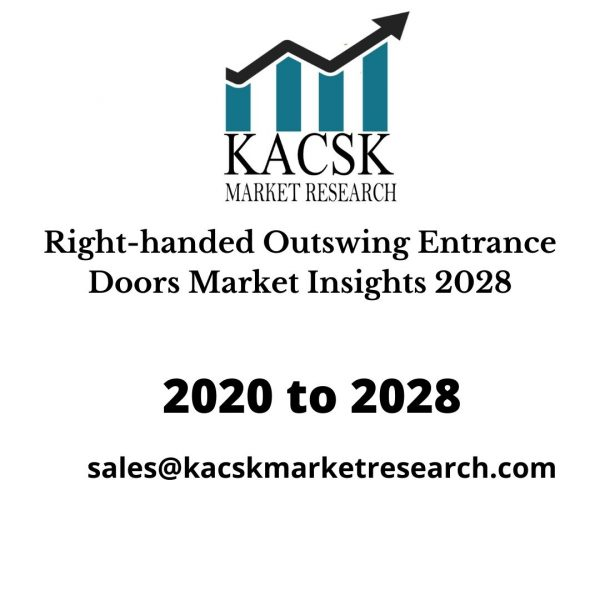 Right-handed Outswing Entrance Doors Market Insights 2028