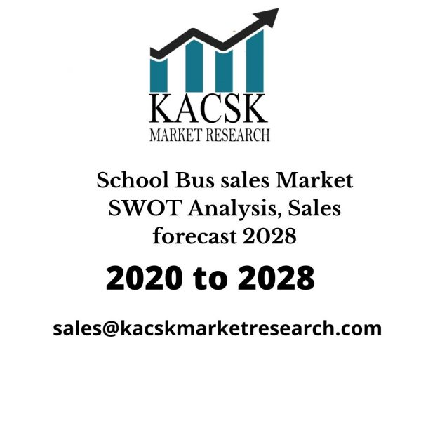 School Bus sales Market SWOT Analysis, Sales forecast 2028