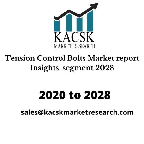 Tension Control Bolts Market report Insights segment 2028