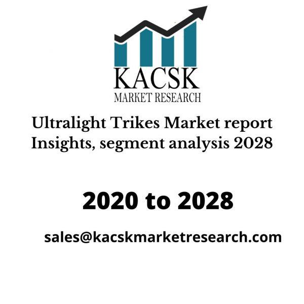 Ultralight Trikes Market report Insights, segment analysis 2028
