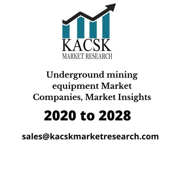 Underground mining equipment Market Companies, Market Insights