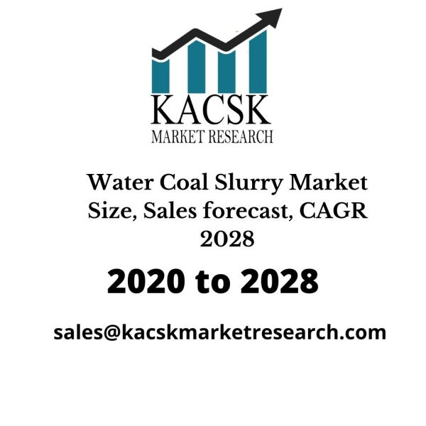 Water Coal Slurry Market Size, Sales forecast, CAGR 2028