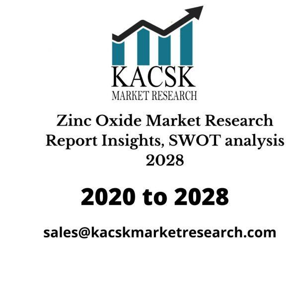 Zinc Oxide Market Research Report Insights, SWOT analysis 2028