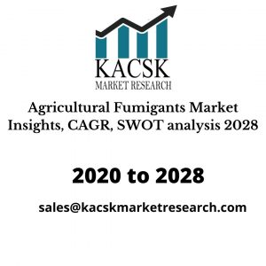 Agricultural Fumigants Market Insights, CAGR, SWOT analysis 2028