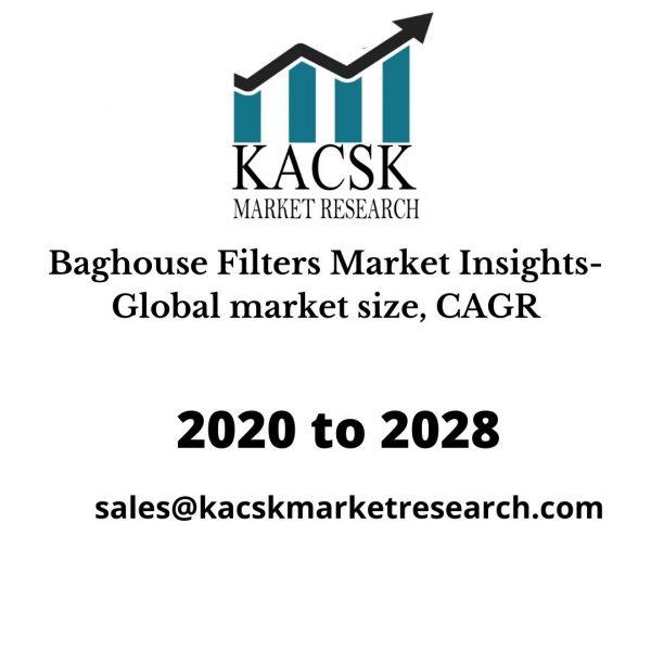 Baghouse Filters Market Insights- Global market size, CAGR