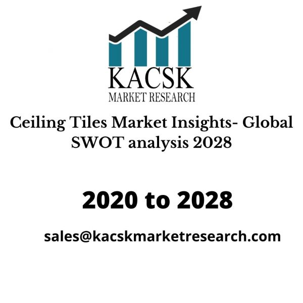 Ceiling Tiles Market Insights- Global SWOT analysis 2028