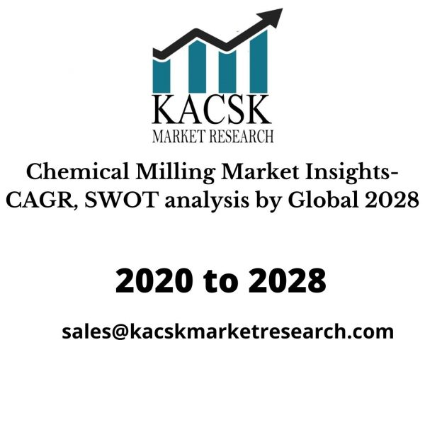 Chemical Milling Market Insights- CAGR, SWOT analysis by Global 2028