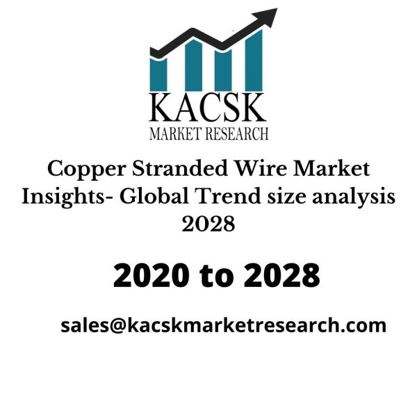Copper Stranded Wire Market Insights- Global Trend size analysis 2028