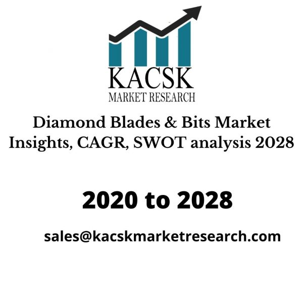 Diamond Blades & Bits Market Insights, CAGR, SWOT analysis 2028