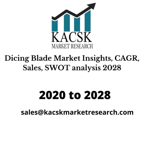 Dicing Blade Market Insights, CAGR, Sales, SWOT analysis 2028
