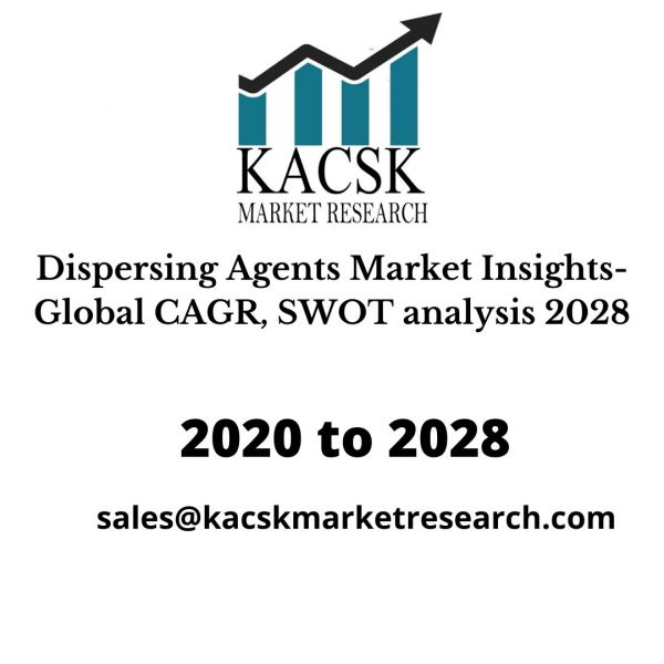 Dispersing Agents Market Insights- Global CAGR, SWOT analysis 2028