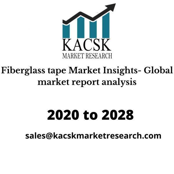 Fiberglass tape Market Insights- Global market report analysis