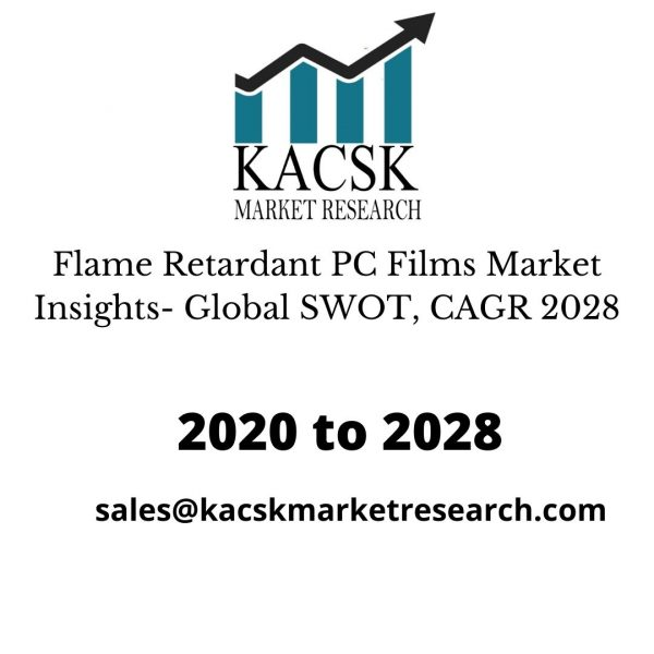 Flame Retardant PC Films Market Insights- Global SWOT, CAGR 2028