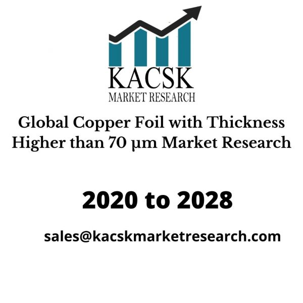 Global Copper Foil with Thickness Higher than 70 μm Market Research