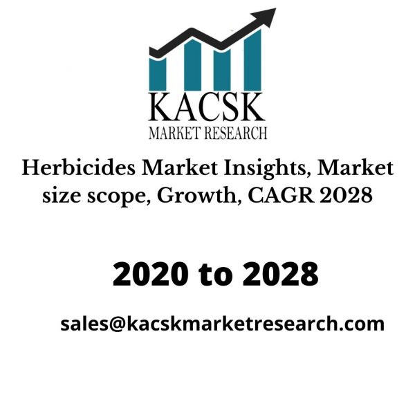 Herbicides Market Insights, Market size scope, Growth, CAGR 2028