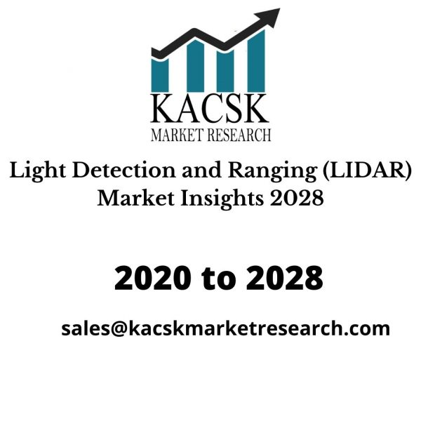 Light Detection and Ranging (LIDAR) Market Insights 2028