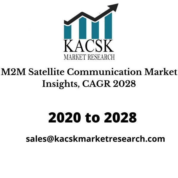 M2M Satellite Communication Market Insights, CAGR 2028