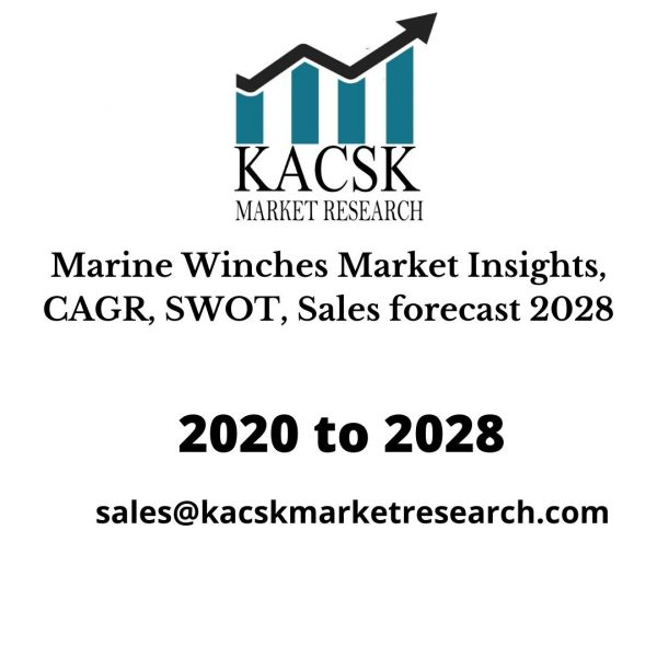 Marine Winches Market Insights, CAGR, SWOT, Sales forecast 2028
