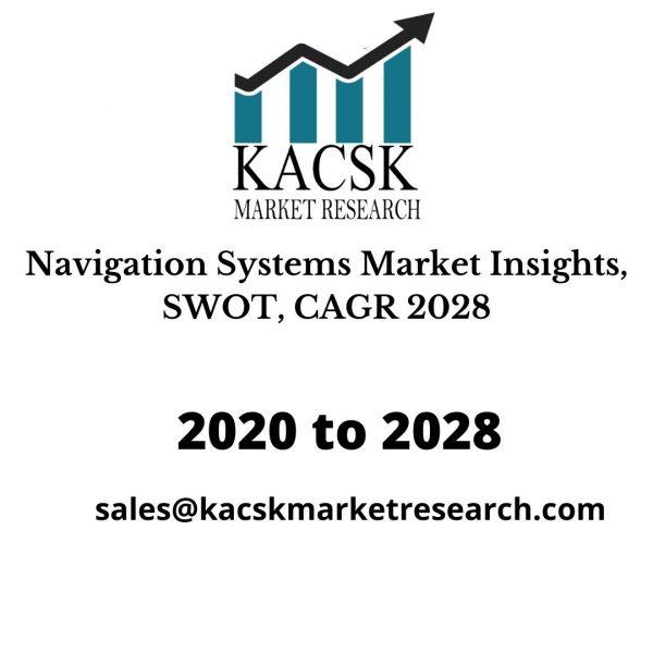 Navigation Systems Market Insights, SWOT, CAGR 2028