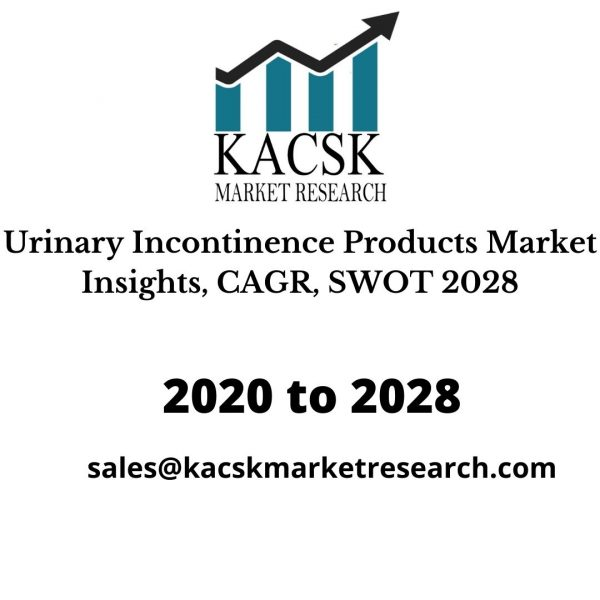 Urinary Incontinence Products Market Insights, CAGR, SWOT 2028