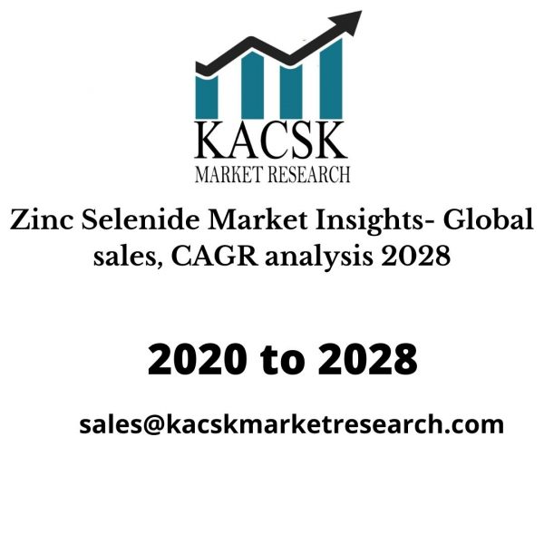 Zinc Selenide Market Insights- Global sales, CAGR analysis 2028