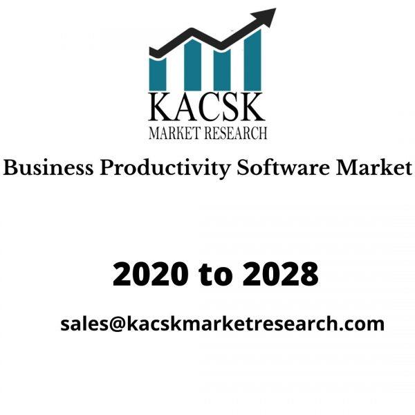 Business Productivity Software Market