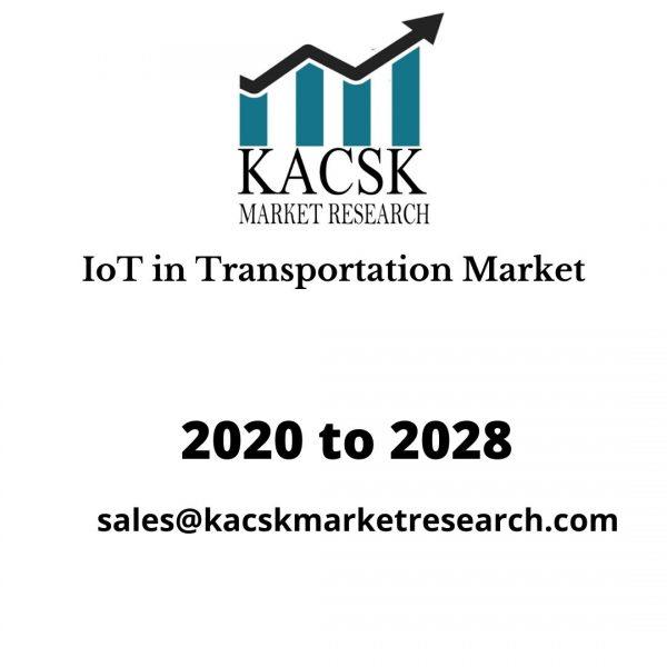 IoT in Transportation Market