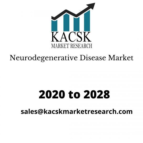 Neurodegenerative Disease Market