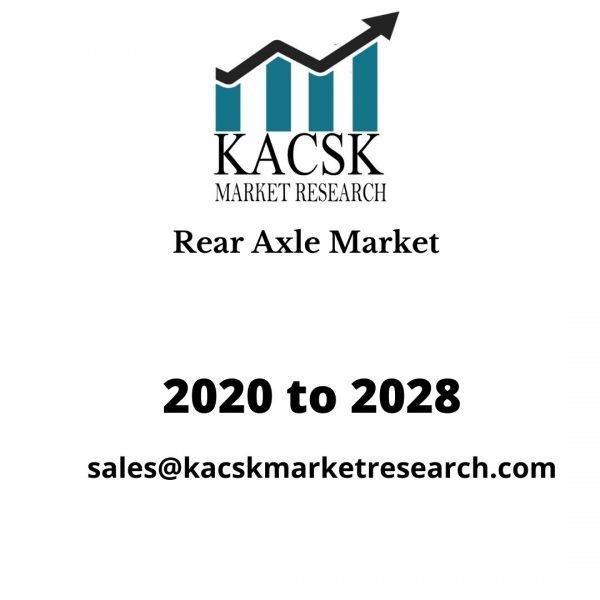 Rear Axle Market