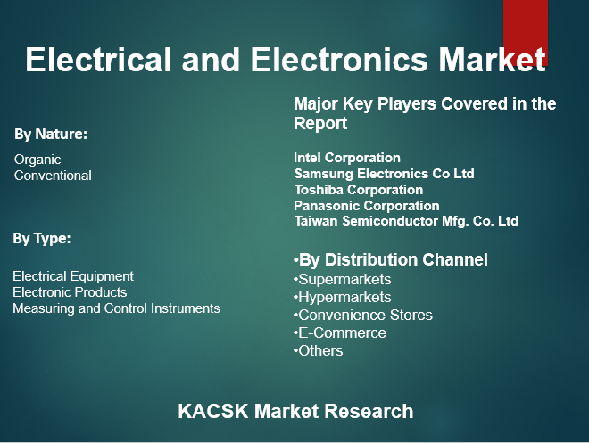 Electrical and Electronics Market